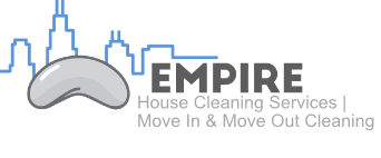 empire move in cleaning services logo chicago